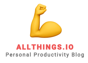 Allthings #1 Personal Productivity Blog