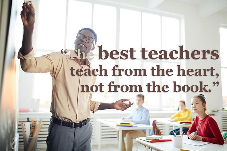 Famous words for teachers